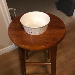 "Fido's Diner Stoneware Food Bowl 6"""